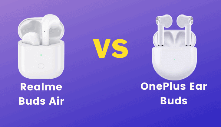OnePlus EarBuds vs Realme Buds Air
